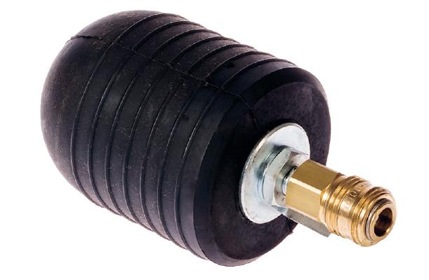 Halbrundes Dichtkissen UR zum Aufpumpen 50 - 200 mm