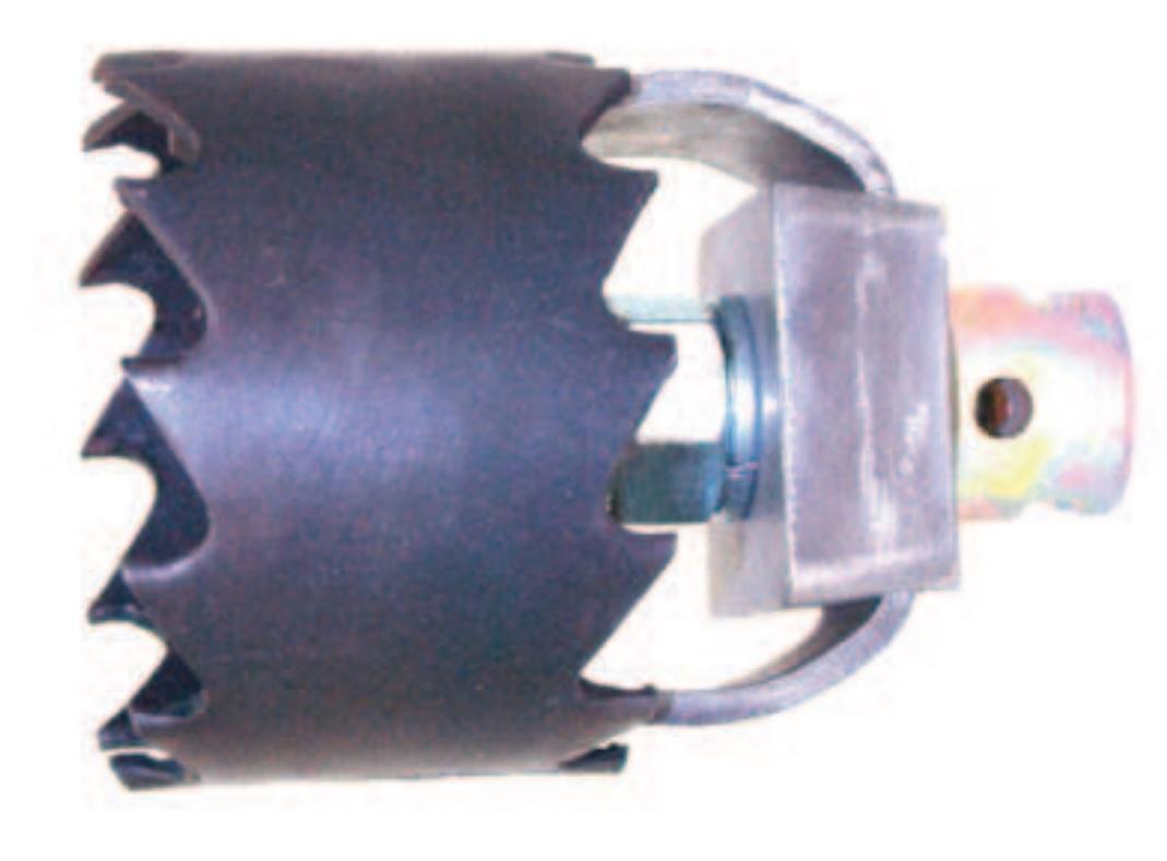 Wurzelschneider 22 - 32 mm, Ø 65 - 150 mm Hohlbohrkrone