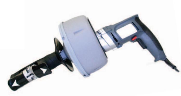 Motor-Hand-rak mit 0,5 PS Motor für 8 mm Spiralen