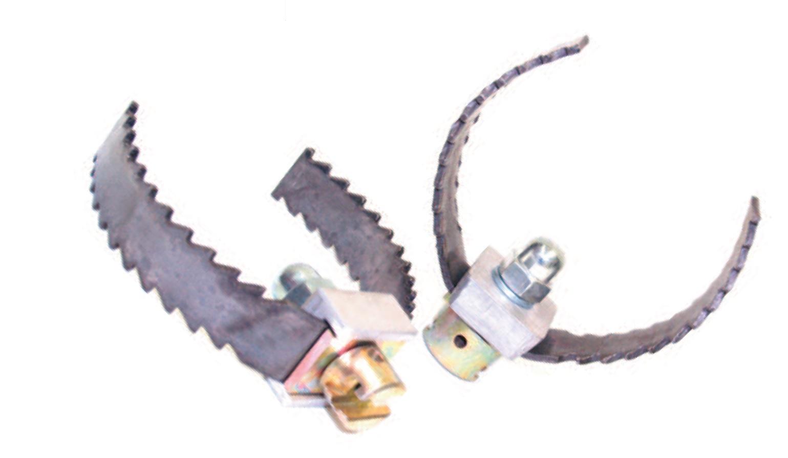 Gabelschneidkopf 16 - 32 mm, Ø 40 - 150 mm vernietet oder verschraubt
