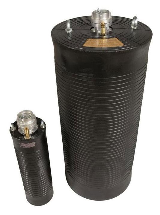 Durchgangsblase - Prüfblase mit Bypass 35 -2200 mm
