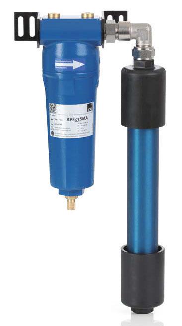 Membrantrockner ECOTROC® MT PLUS mit passendem Vorfilter, Leistung bis 3.000 l/min