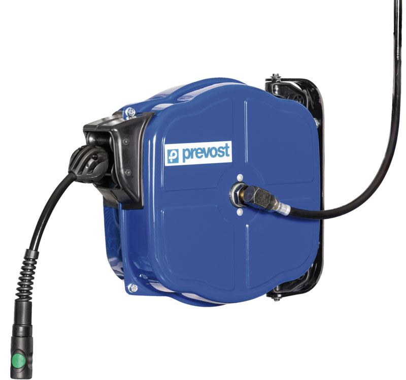 Prevost DPF 0812ES Industrie-Schlauchaufroller mit antistatischem Schlauch