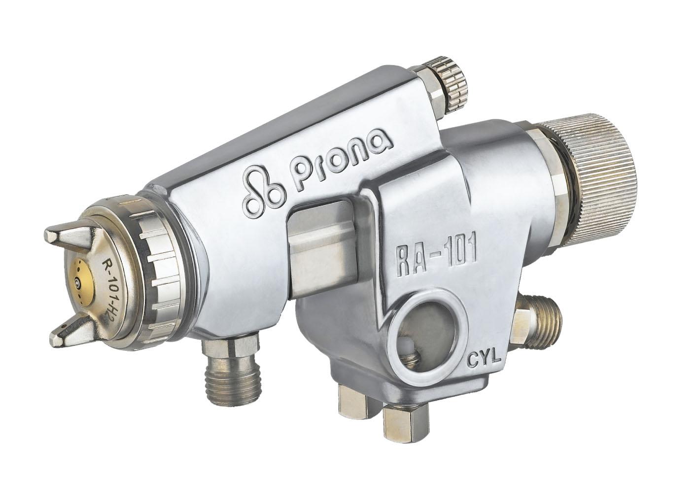 Automatik Farbspritzpistole Prona RA-1 mit Fließbecher