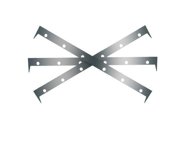 Shim-Set Zubehör für Super Air Knife Edelstahl 303