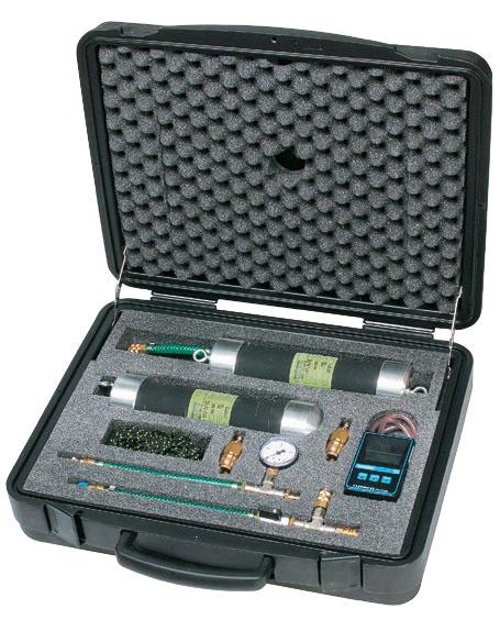 Hausanschluss-Rohrprüfsystem DS 8 - 15 für Dichtheitsprüfungen