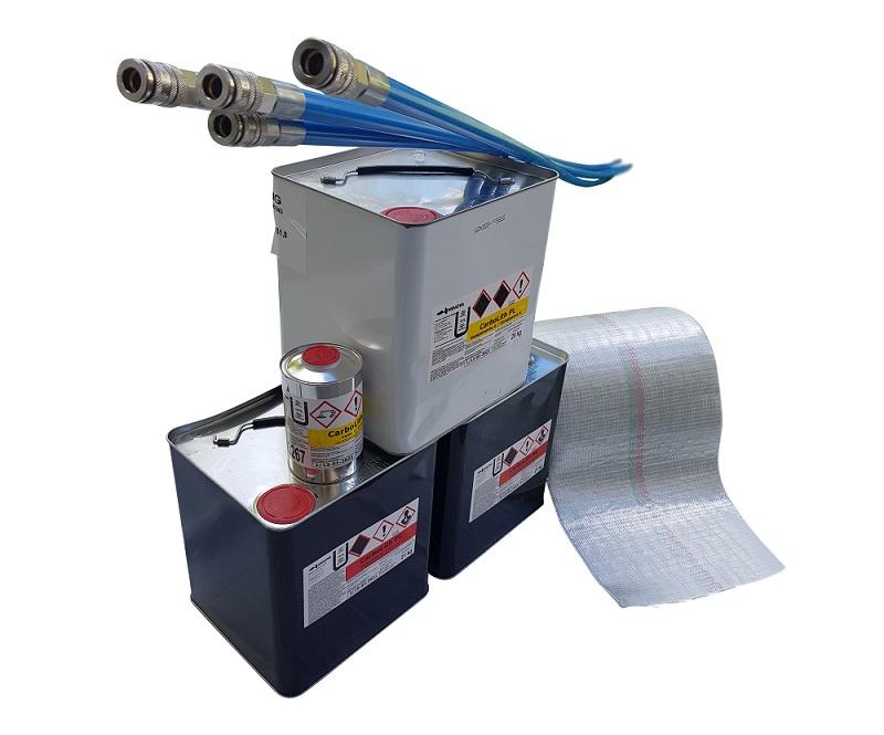 Sanierungsset Komplettpaket 1  – Geeignet für Rohre mit einem Durchmesser von 100 – 200 mm