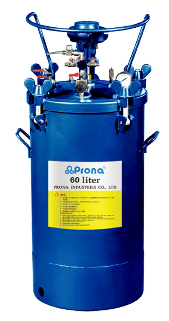 Drucktank aus Aluminium 60 Liter Prona