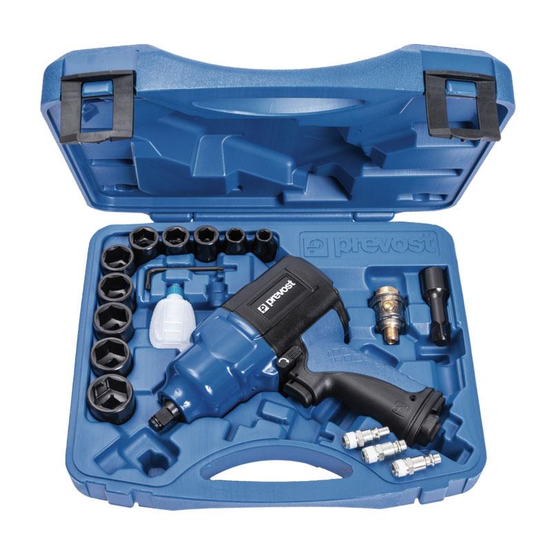 Prevost TIW C121150K Schlagschrauber Doppelhammer verstärkt im Koffer