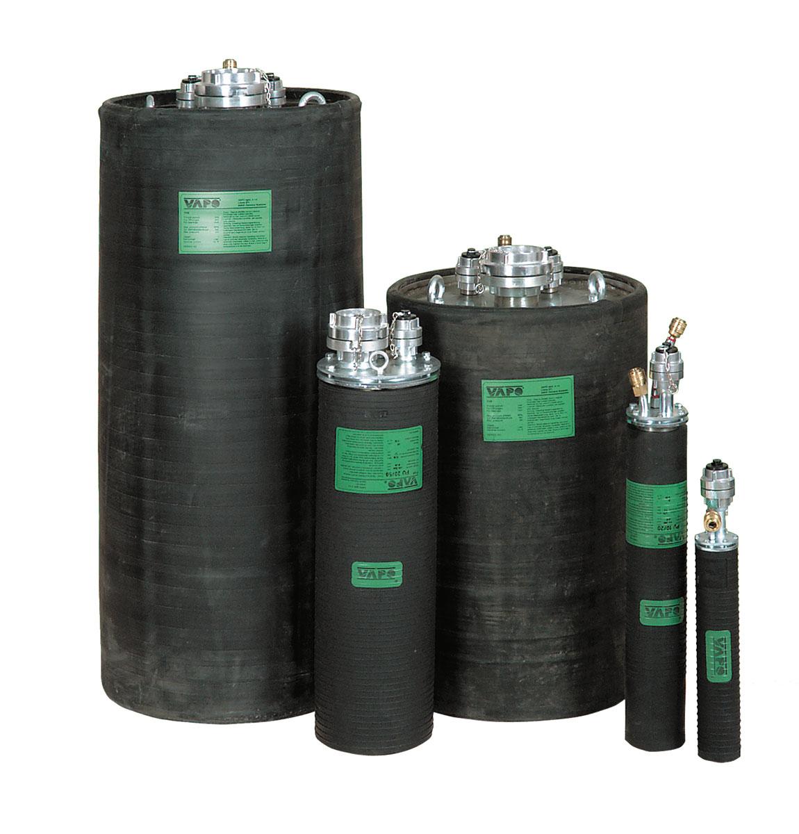 Standard-Prüf-Rohrdichtkissen PU für Rohrdurchmesser 70 - 1200 mm