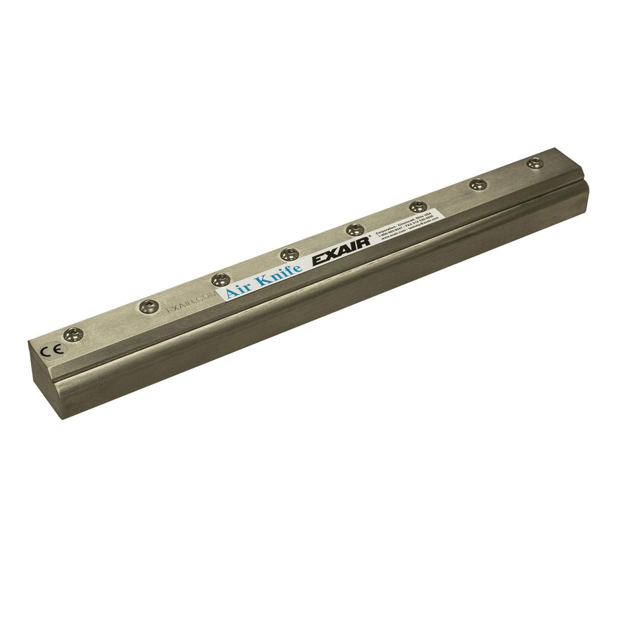 """Full Flow Air Knife Luftmesser aus Aluminium 3"""" - 36"""", 76 - 914 mm"""